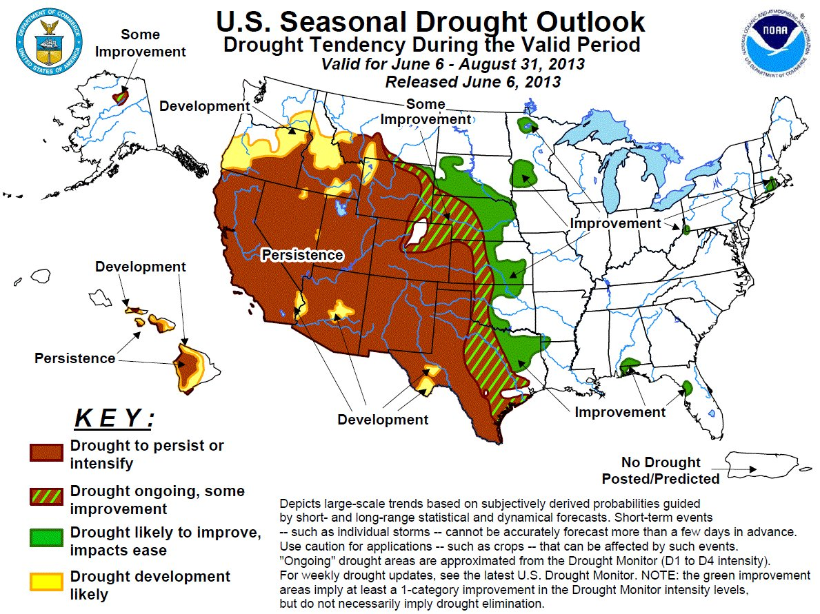 seasonaldroughtoutlookjune62013